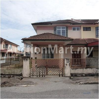 2-Storey Low Cost Terrace House (End Lot)
